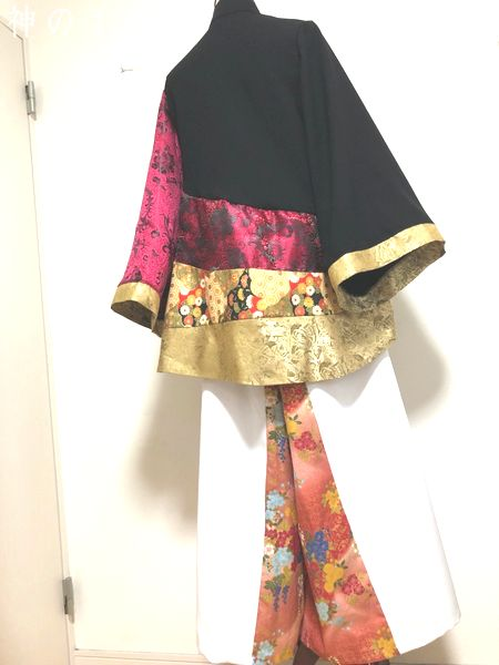 レディースクール和柄衣装