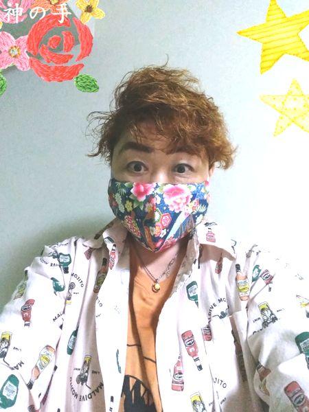 ハンドメイド和柄布マスク