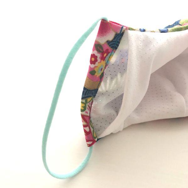 手作り和柄布マスク