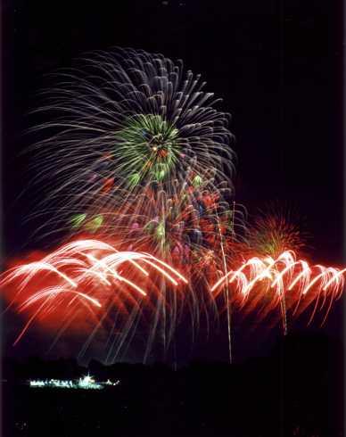 立川の花火