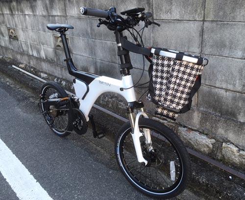 電動自転車BESV PS1フロントフォーク
