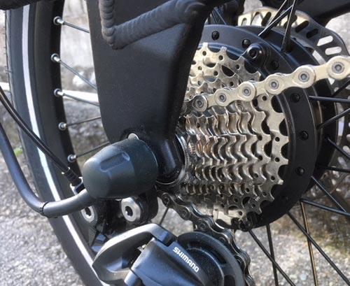 電動自転車BESV PS1コンポーネント