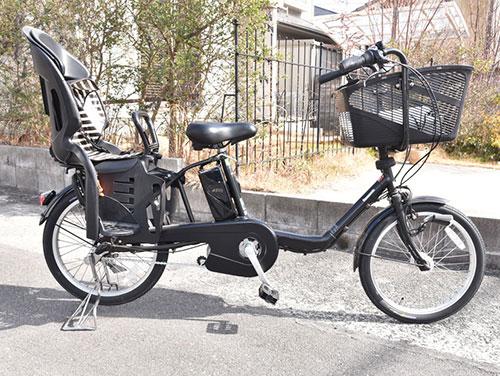 パナソニック電動アシスト自転車ギュットミニDX全体