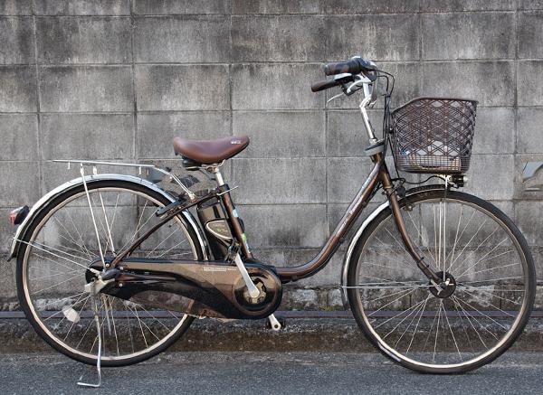 ヤマハ電動アシスト自転車PAS VIVI DX