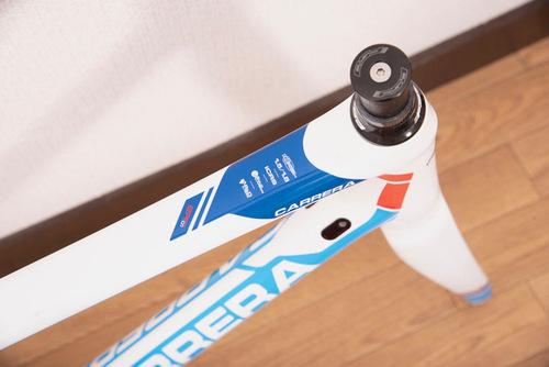 CARRERA(カレラ)ロードバイクフレームトップチューブ