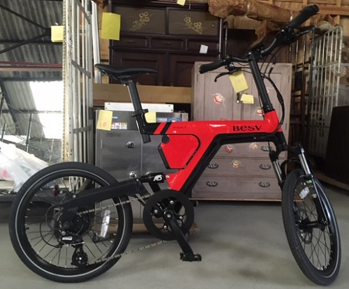 電動アシスト自転車BESV(ベスビー)PSA1