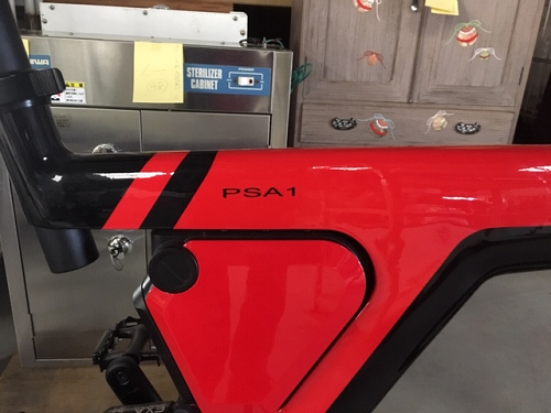 電動アシスト自転車BESV(ベスビー)PSA1バッテリー部分
