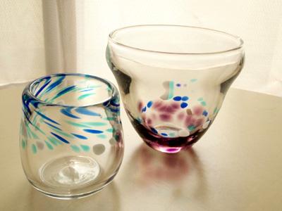 ガラス体験