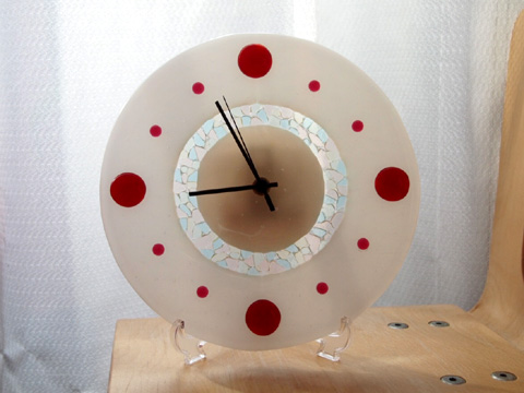 フュージング講座 11回目−時計