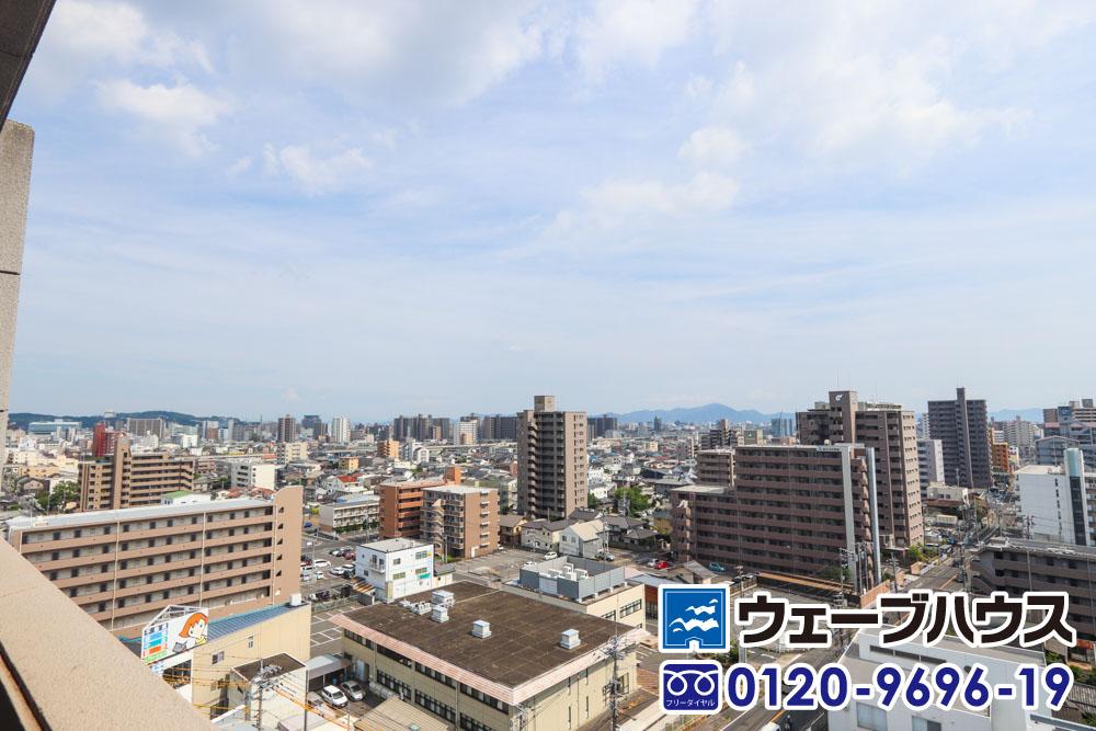 フローレンス野田グランドアーク弐番館からの眺望