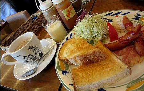 前田珈琲 モーニング
