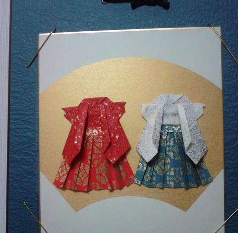 ハート 折り紙 折り紙 はかま : bfwm.jugem.jp