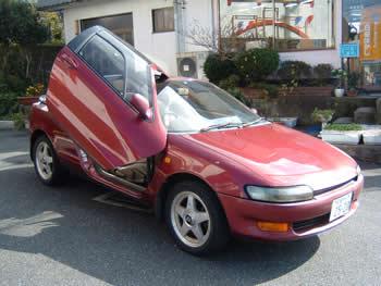 18年間乗り続けた愛車 トヨタ セラ