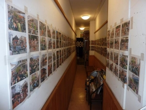 2010祇園祭 お手洗い通路 奥から