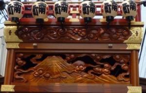 祇園祭 南町区 富士山彫刻