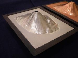 薬丸印2008 富士山立体香炉小