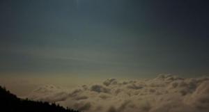 20100824富士宮口5合目 月明かり雲海