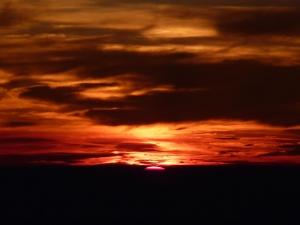 20100825  富士山頂ご来光の瞬間