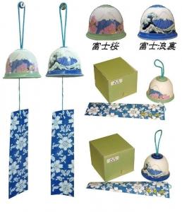 富士山風鈴