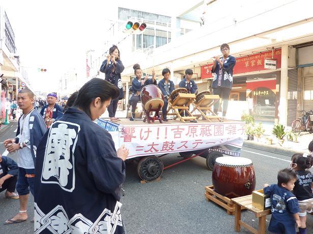 2011吉原宿宿場まつり 太鼓ステ...