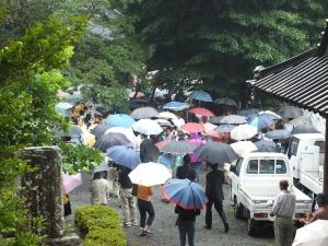 2012 村山 富士山開山祭 古道 聖護院 東海道表富士