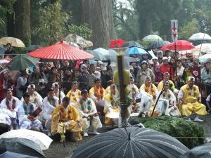 2012 村山 富士山開山祭 古道 聖護院 富士山専門店