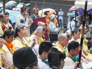 2012 村山 富士山開山祭 古道 聖護院 西川卯一