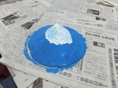 富士山静岡空港 世界遺産 村山古道 東海道表富士 立体塗り絵