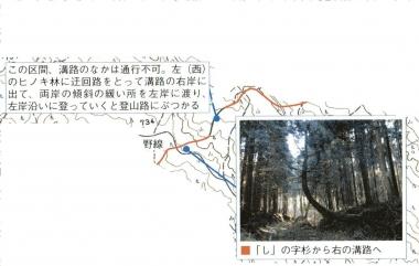 富士山 村山古道 注意個所 分岐 見分け 東海道表富士