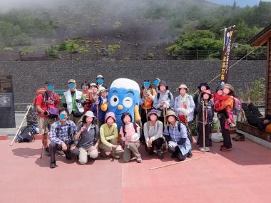富士下山 富士山下山ツアー 村山 アサギマダラ ガイド 西川卯一 東海道表富士