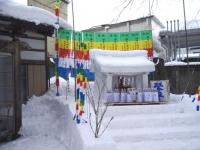 六郷のカマクラ_雪宮
