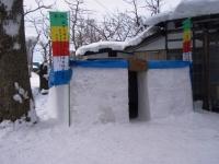 六郷のカマクラ_鳥追小屋