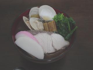 2006年元旦のお雑煮