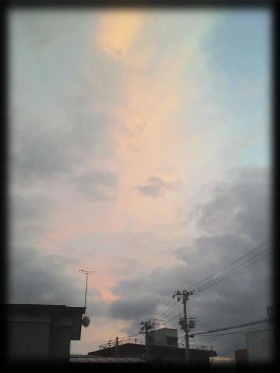 20121018の夕日