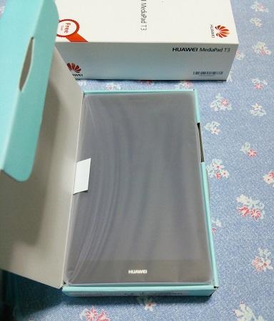 Huawei 格安タブレット MediaPad T3 レビュー