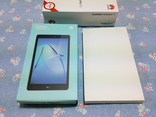 Huawei 格安タブレットMediaPad T3 レビュー
