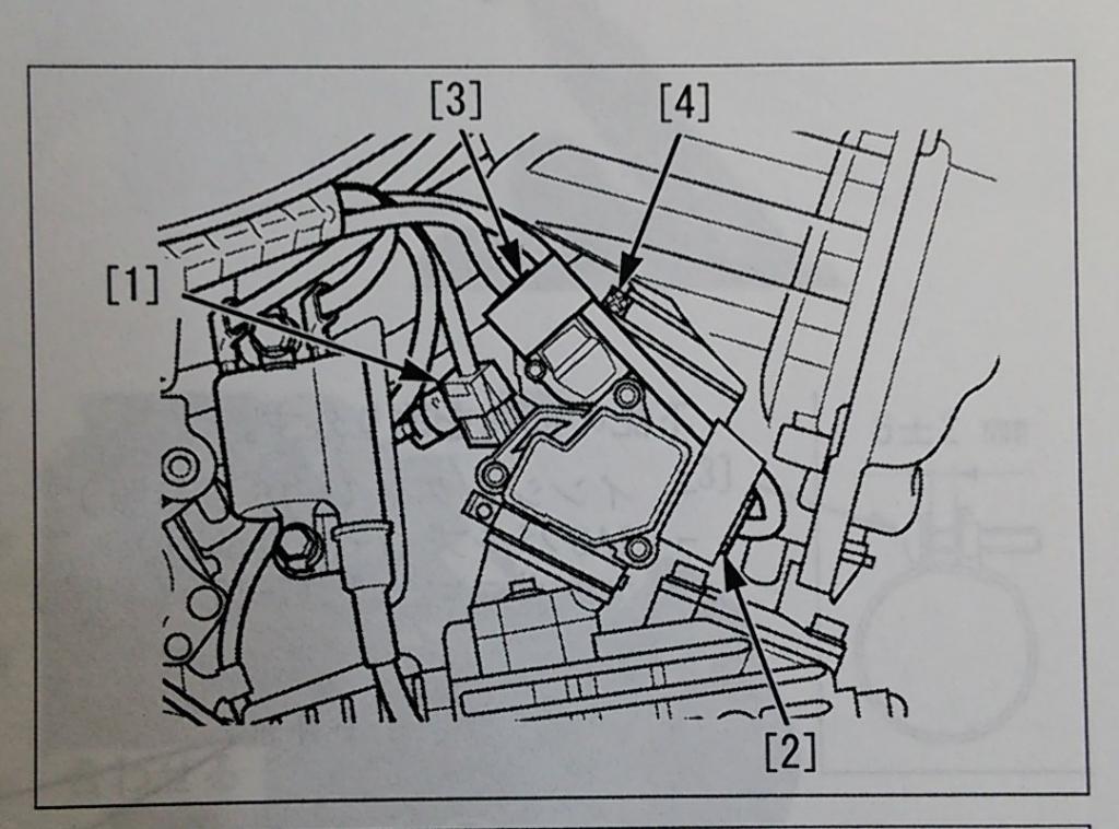 スーパーカブ AA04 スロットルボディ カプラ