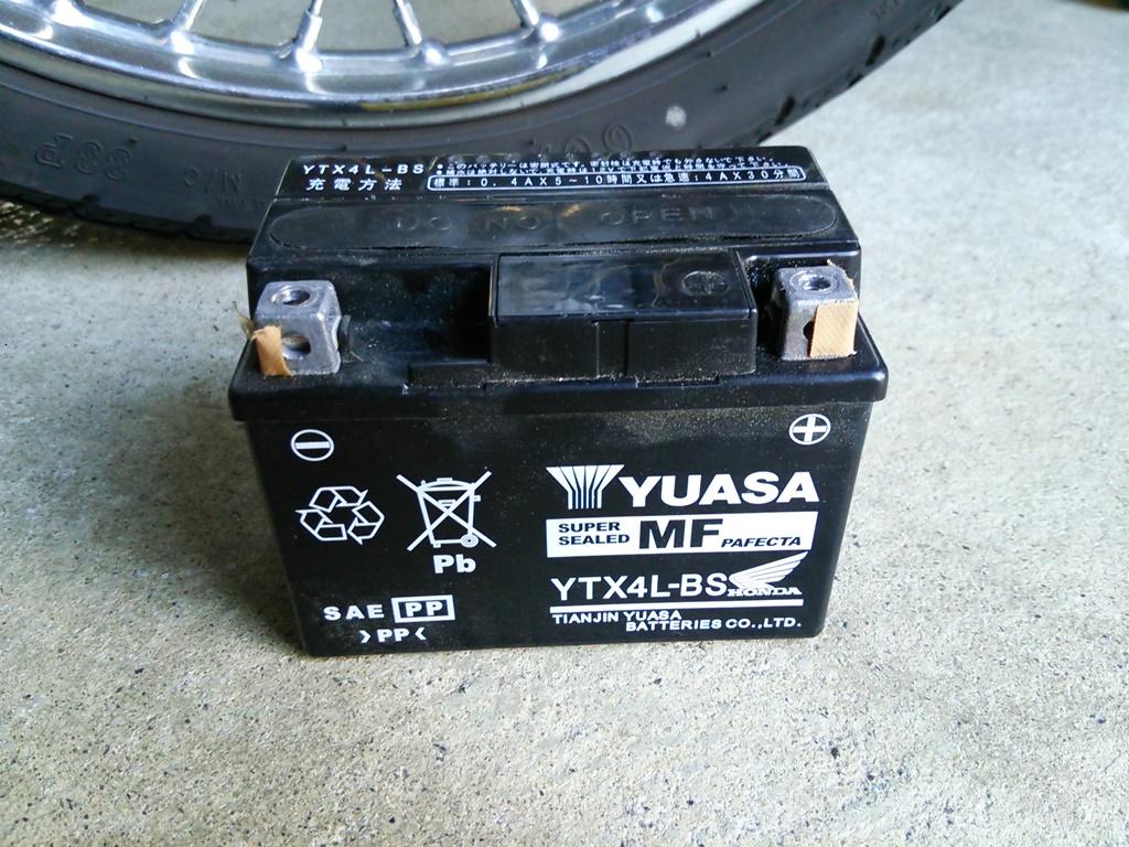 原付 バッテリー YTX4L-BS
