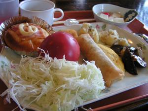 たまゆら ロックフェス2005 翌日の朝食