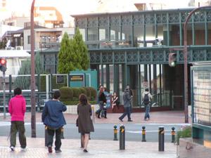 2006年10月7日土曜日 午後11時ごろの恵比寿ガーデンプレイス