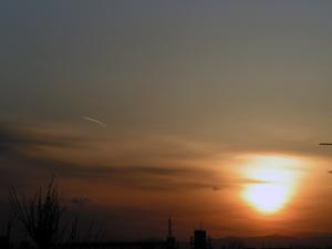 2007年3月の夕暮れ
