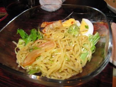 ビビンバ麺