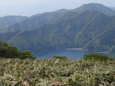 竜ヶ岳本栖湖1