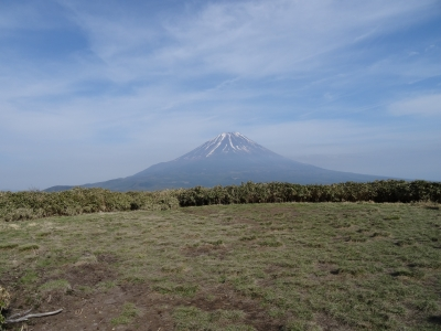 竜ヶ岳富士山3