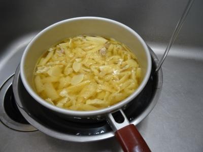 筍と油揚げの炊き込み