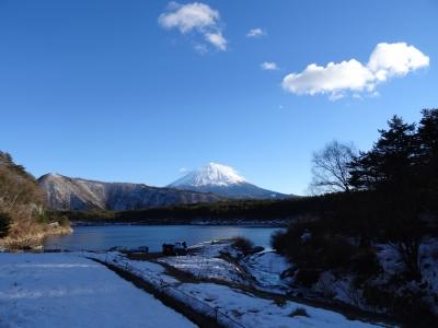 雪の西湖湖畔1