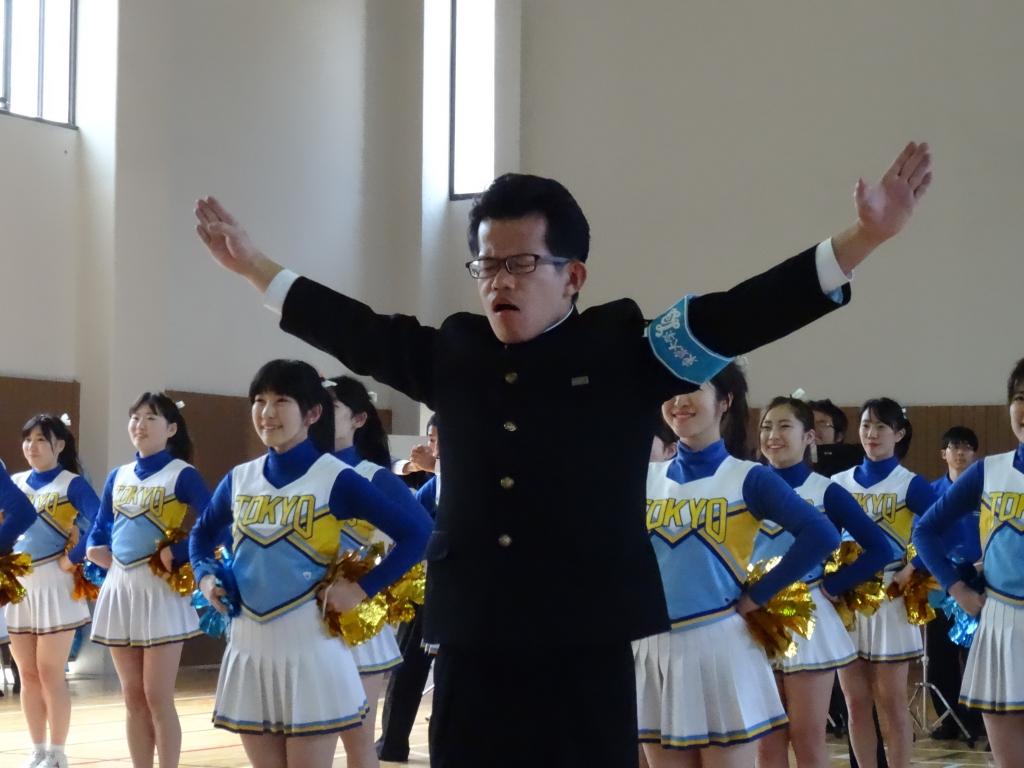 東大応援団1