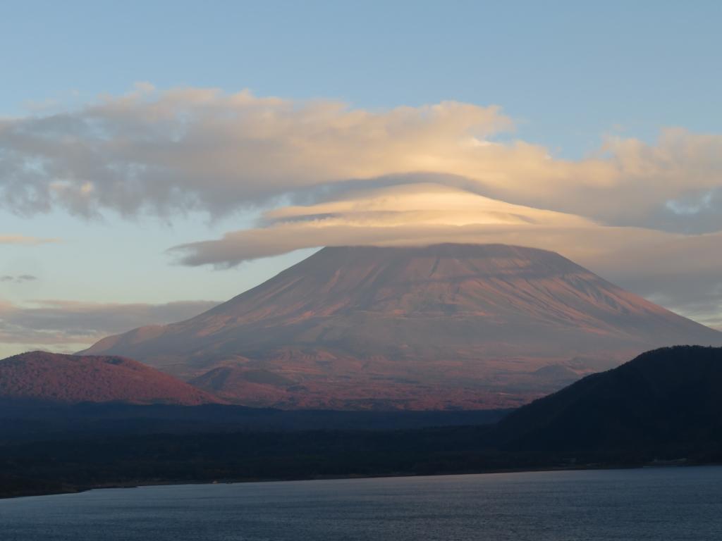 20171102本栖湖富士山