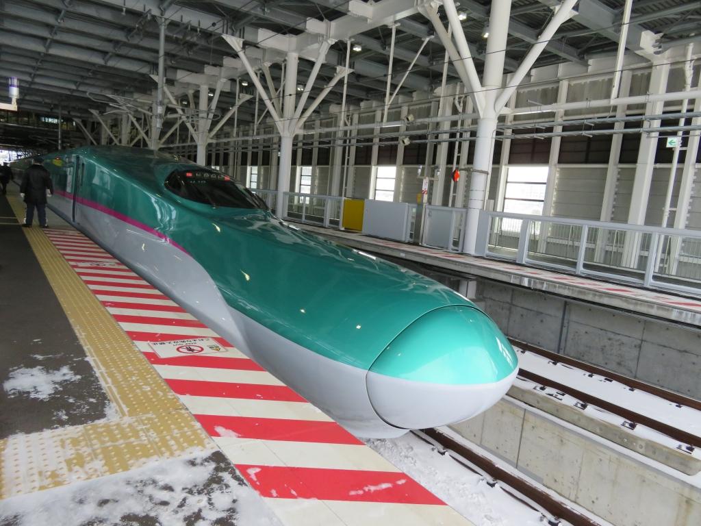 新幹線の旅1