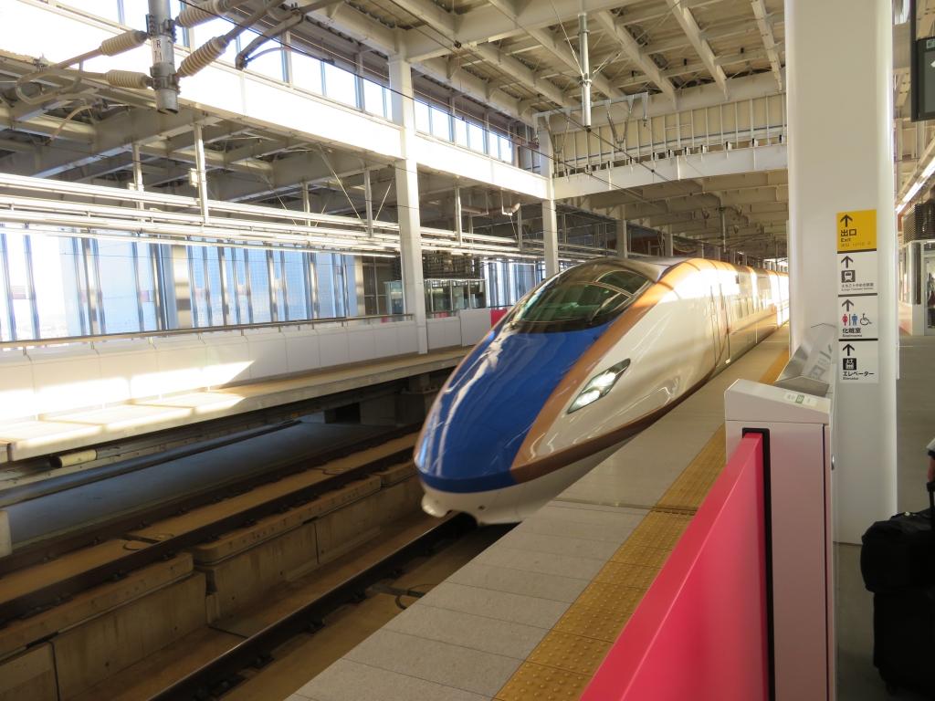 新幹線の旅4